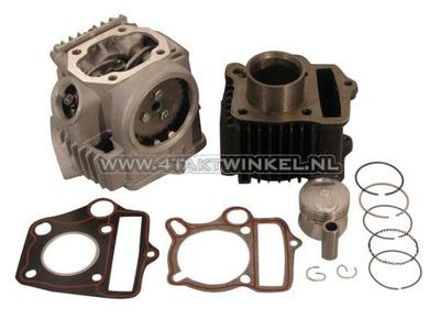 Kit de cylindre, avec piston et joint et culasse 50cc, Honda NT, AGM, Hanway, Skyteam