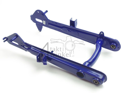 Bras oscillant C50, modèle basses, bleu, imitation