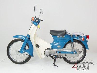 VENDU Honda C50 NT Japans, blue, 4524 km