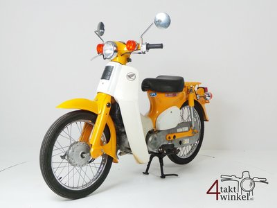 Honda C50 NT Japanese, yellow, 10118 km, with papers (A LOUER)