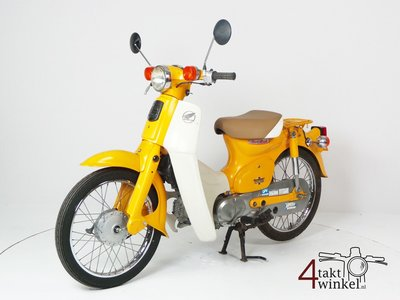 VENDU Honda C50 NT Japanese, yellow, 10118 km