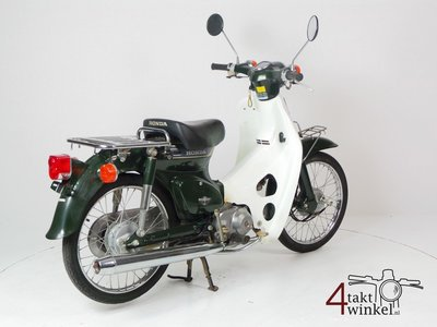 Honda C50 NT Japanese, green, 4756 km, with papers