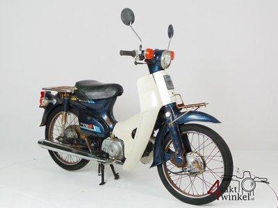 Honda C50 NT Japans, blue, fixer upper