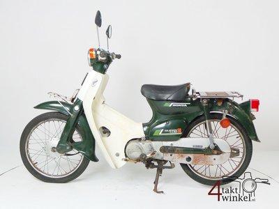 VENDU ! Honda C50 NT Japanese, green, fixer upper 2