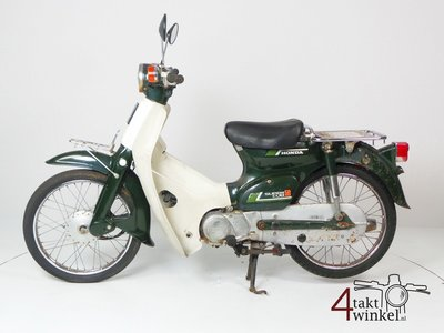 Honda C50 NT Japanese, green, fixer upper