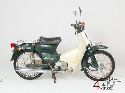 VENDU ! Honda C50 NT Japanese, green, fixer upper 4