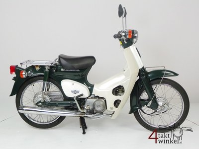Reserved! Honda C50 NT Japanese, green, 6159 km