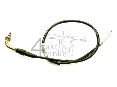 Câble de gaz,70cm, avec coude, imitation