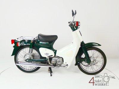 Honda C50 NT Japanese, green, 6717 km