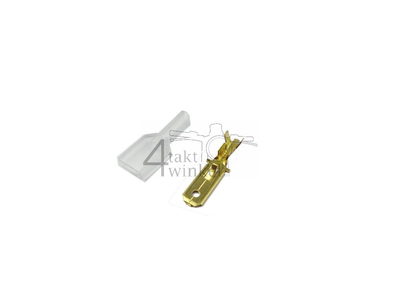 Cosse curseur japonais 6,3 mm, homme