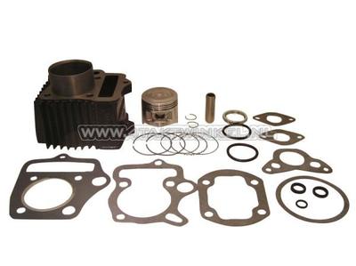 Kit de cylindre, avec piston et joint 70cc, culasse NT50 49cc op.acier