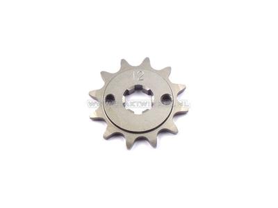 Pignon avant, chaîne 415, axe 17 mm, 12, C310, PC50, PS50