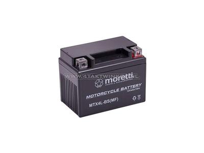 Batterie 12 volts 4 ampères gel / AGM, MTX4L-BS