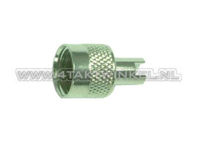 Bouchon de valve en métal