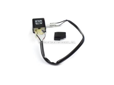 Relais clignotant 6 volts 8 ou 10 watts feux, d'origine Honda