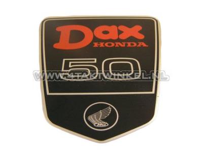 Autocollant emblème Dax sous selle large, DAX 50, d'origine Honda