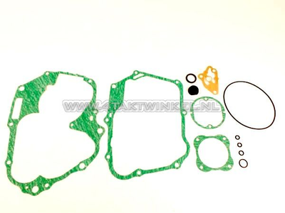 Jeu de joints B, bloc inférieur, SS50, embrayage à main CD50, d'origine Honda