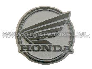 Emblème de protège jambes C50 NT, style serrè, d'origine Honda