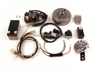 Kit de conversion d'allumage CDI et électricité 12 volts CB50, CY50
