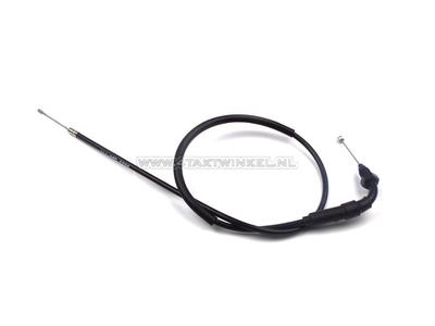 Câble de gaz, C50 NT, 72cm, avec coude, d'origine Honda