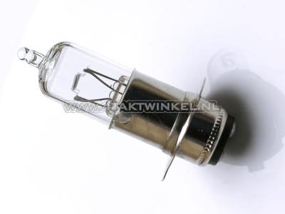Phare P15d, double, 12 volts, 25-25 watts, avec douille imitation SS50, halogène