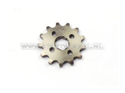 Pignon avant, chaîne 420, axe 17 mm, 13, SS50, C50, Dax