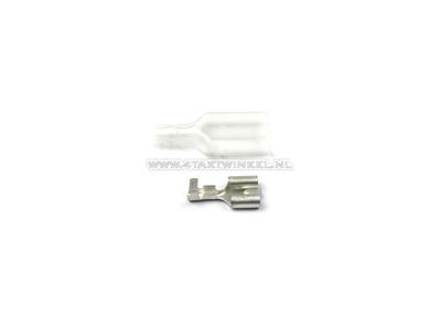 Cosse curseur japonais 6,3 mm, femelle + Goujon