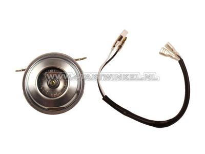 Klaxon 6 volts, SS50, support CD50, imitation