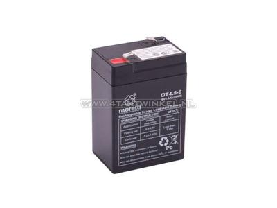 Batterie 6 volts 4,5 ampères, SS50, Dax, gel, universelle