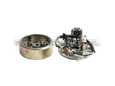 Kit allumage CDI 12v robinet, C50 NT