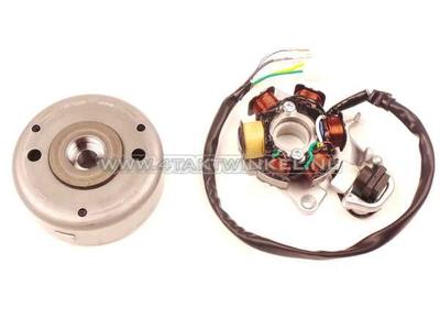 Allumage CDI CB50, bobines d'imitation, volant magnetique d'origine Honda