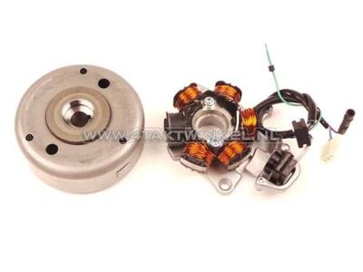 Allumage CDI CB50, volant magnetique  et bobines, d'origine Honda