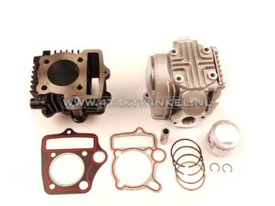 Kit cylindre, avec piston et joint et culasse 70cc, Honda NT, AGM, Hanway, Skyteam, etc.