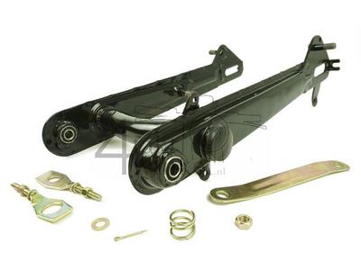 Bras oscillant C50, modèle basses, noir, sans supports, imitation