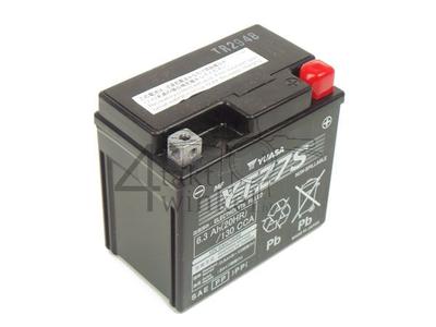 Batterie 12 volts 6,3 ampères acide, Honda Zoomer, YTZ7S Yuasa