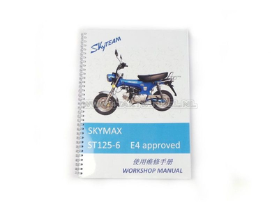 Manuel d'atelier, Skyteam Dax, 125cc, euro4