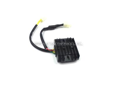 Régulateur de tension, 12v 5 pôles, 3x câble d'alimentation
