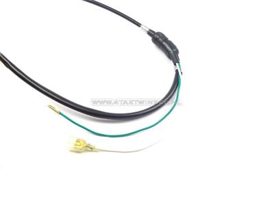 Câble de frein 100cm Dax OT avec interrupteur noir, imitation