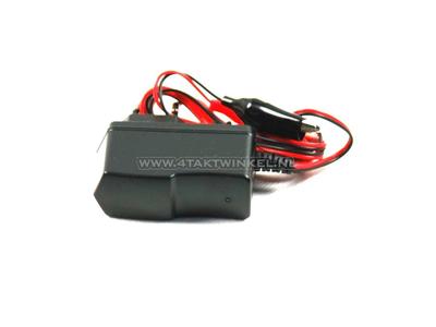 Chargeur de batterie, 12 volts
