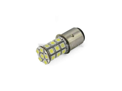 Phare BA20d, double, 12 volts, LED, y compris Skyteam, Mash
