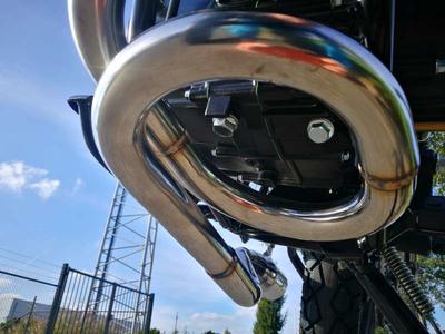 Pot d'échappement sportif, AGM Cafe Racer, Skyteam Classic, Kepspeed, acier inoxydable