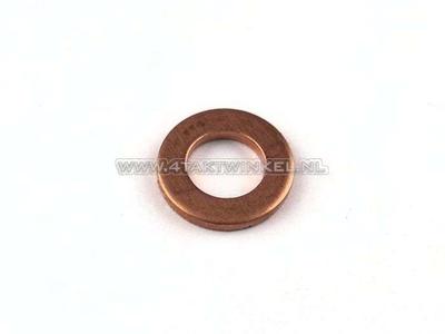 Rondelle 10 mm, cuivre