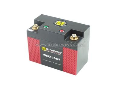 Batterie Lithium 12 volts 7 ampères L.