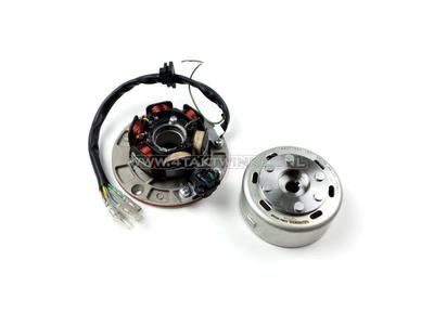 Kit d'allumage CDI 6v robinet, SS50, CD50, C50 Dax, volant Takegawa