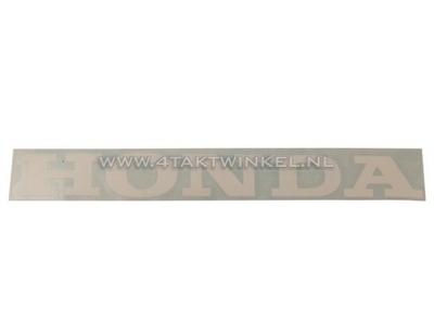 Autocollant Honda universel 22cm blanc