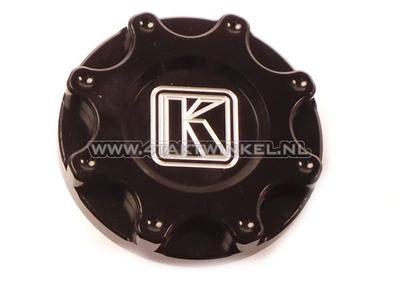 Bouchon de réservoir Monkey, CNC aluminium noir