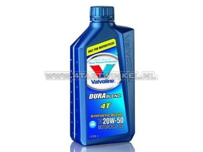 Huile Valvoline 20w-50 semi-synthétique, 4 temps, 1 litre