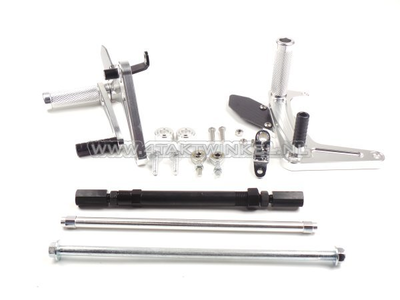 Kit Backstep, C50, C70, C90, streetcub, Kepspeed, aluminium