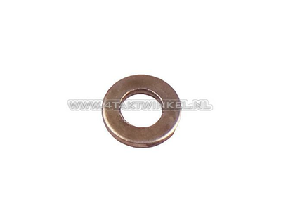 Rondelle 6,5 mm, garde-boue arrière Novio, Amigo, d'origine Honda