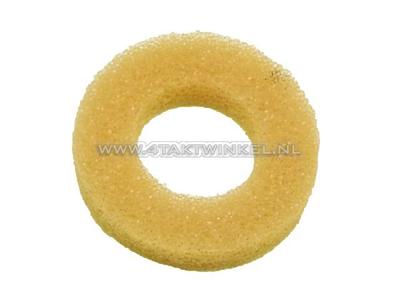 Filtre à air, rondelle en mousse entre le filtre à air et le cadre, Novio, Amigo, PC50